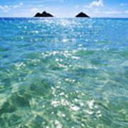 Oahu, Lanikai Beach Poster