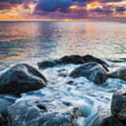 Oahu Shoreline Poster