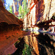 Oak Creek Canyon 1 Poster