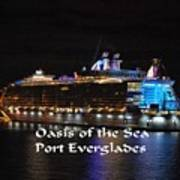 Oasis Of The Seas Poster