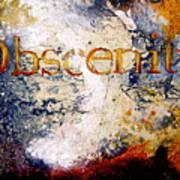 Obscenity Poster