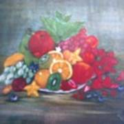Obst Poster