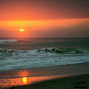 Ocean Beach Sunrise Poster