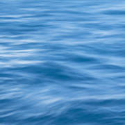 Ocean Blur Poster
