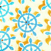 Ocean Circles Poster