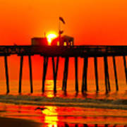Ocean City Sunrise Poster