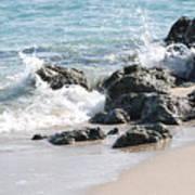 Ocean Drive Rocks Poster
