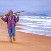 Ocean Fisherman Poster
