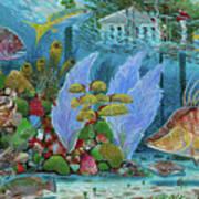 Ocean Reef Paradise Poster
