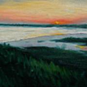 Ocean Sunset No.1 Poster
