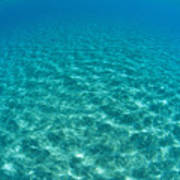 Ocean Surface Reflections Poster