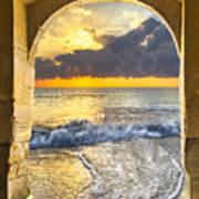 Ocean View Poster by Debra and Dave Vanderlaan