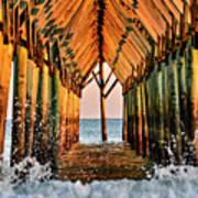 Ocean Window Poster