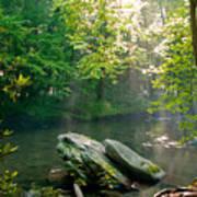 Oconaluftee River. Poster