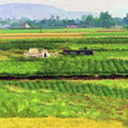 Off The Beaten Track Vietnam Viewed Through Train Window Filters  Poster