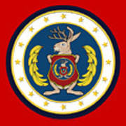 Official Odd Squad Seal Poster