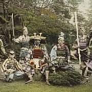Ogawa, Kazumasa Sights And Scenes In Fair Japan. Poster