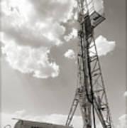 Oil Derrick II Poster