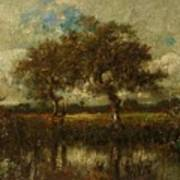 Oil Painting Landscape Poster