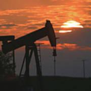 Oil Pump Jack 6 Poster