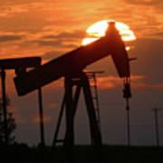 Oil Pump Jack 7 Poster