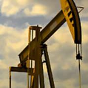 Oil Pumpjack II Poster