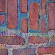 Oil Soaked Bricks Poster
