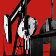 Oil Well Pump #4 Poster