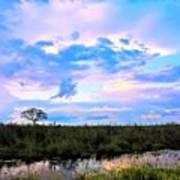 Okavango Sundowners Poster