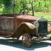 Old Antique Vehicle Poster