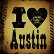 Old Austin Poster