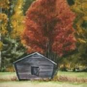 Old Autumn Poster