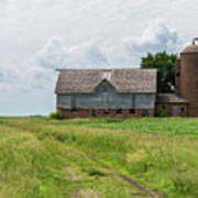Old Barn Country Scene 4 A Poster