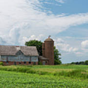 Old Barn Country Scene 4 B Poster