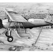 Old Bi Plane Poster