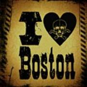Old Boston Poster