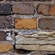 Old Bricks Poster