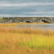 Old Bridge In Autumn Poster