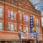 Old Brown Theater - Wapak Theater Poster