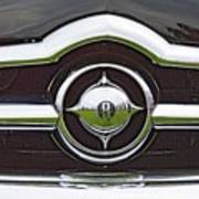 Old Car Grille Poster