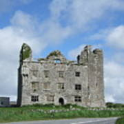 Old Castle In Ireland Poster
