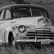 Old Chevy By The Levee Poster