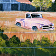 Old Chevy Truck Poster