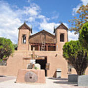 Old Church In Chimayo  Poster