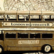 Old City Bus Tour Poster