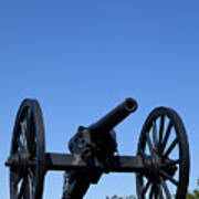 Old Civil War Cannon Poster