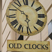 Old Clocks Poster