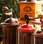 Old Coffee Grinders Poster