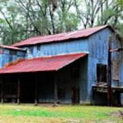 Old Cotton Gin 02 Poster