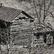 Old Deserted Farmhouse 3 Poster